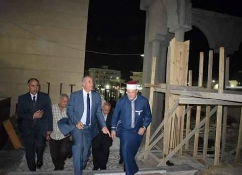 محافظ البحر الأحمر يتفقد إنشاءات مستوصف مسجد الميناء الطبيبالغردقة