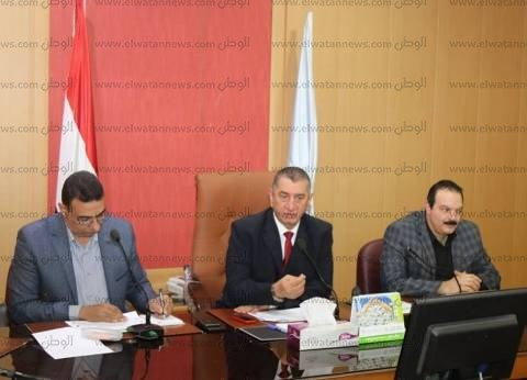بالصور| محافظ كفر الشيخ يشكل لجنة لرفع بصمات المركبات المضبوطة
