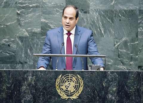 السيسي يلتقي أبومازن.. ويؤكد: القضية الفلسطينية تحتل الأولوية في سياستنا الخارجية