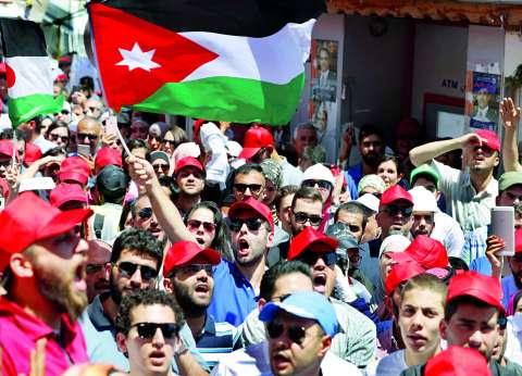 سيناريو الفوضى الإسرائيلى يحاصر الأردن