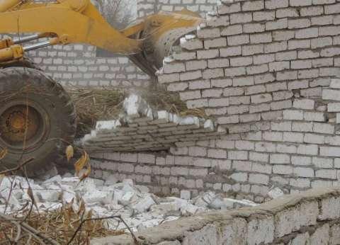 """""""أمن مطروح"""" يزيل تعديات على 400 فدان من أملاك الدولة في العلمين"""