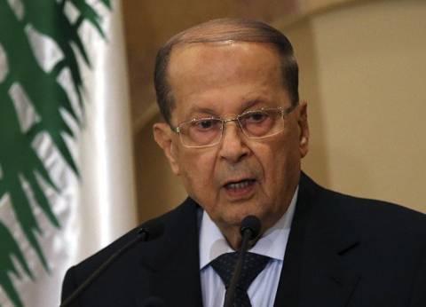 الرئيس اللبناني: ضربة سوريا لا تساهم في الحل السياسي