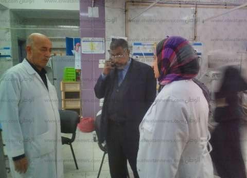 """""""صحة الشرقية"""": مصابو سقوط أسانسير الزقازيق يغادرون المستشفى"""