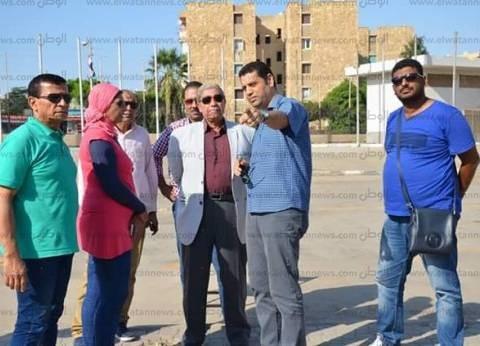 محافظ الإسماعيلية يتفقد اللمسات الأخيرة لاستقبال مهرجان الفنون الشعبية