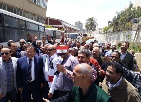 """رئيس """"عمال الإسكندرية"""": مسيرات عمالية حاشدة للمشاركة في الاستفتاء"""