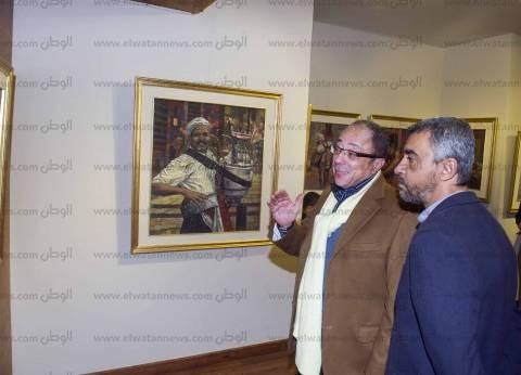ملامح الشخصية المصرية فى معرض «عبدالعاطى»: الرومانسية تكسب