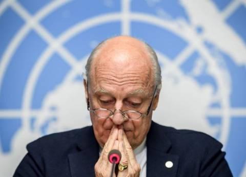 دي ميستورا: السوريون في حاجة إلى الطمأنينة من أجل العودة لبلدهم