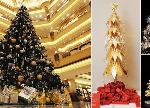 بالصور| أغلى أشجار كريسماس في العالم.. بلغت ملايين الدولارات