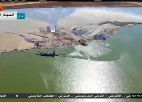 """السيسي يشاهد فيلما تسجيليا بعنوان """"العلمين مستقبل مصر يجيب"""""""