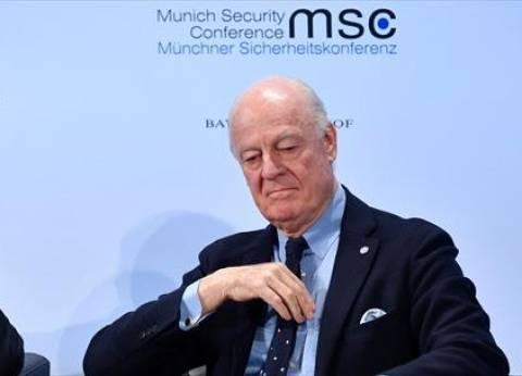 دي ميستورا: مباحثات روسيا وتركيا حول سوريا لم تأت ثمارها في أدلب
