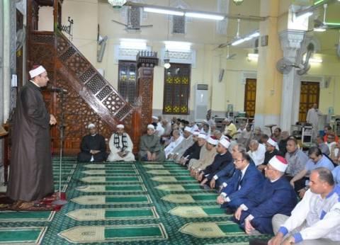 بالصور| محافظ القليوبية يشارك في احتفال الأوقاف بذكرى العاشر من رمضان