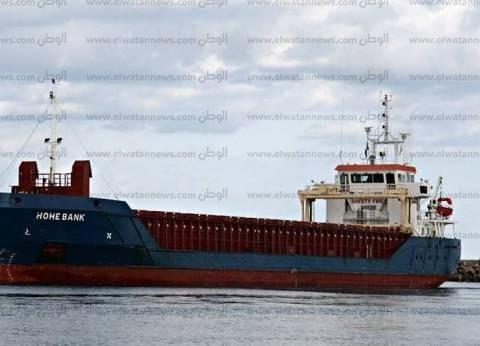 فتح بوغاز الإسكندرية وانتظام حركة السفن وعمليات الشحن والتفريغ
