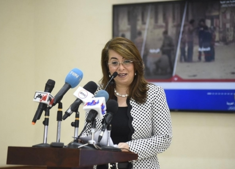 غادة والي تدلي بصوتها في الاستفتاء على التعديلات الدستورية غدا