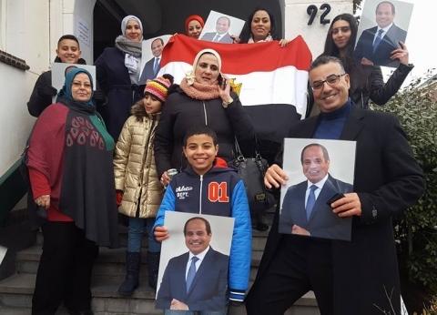 """الجالية المصرية بهولندا: أكثرنا سيصوّت على التعديلات في """"الويك إند"""""""