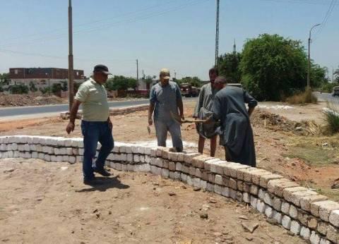 """""""محلية مركز المنيا"""" تشن حملة نظافة وإزالة إشغالات بـ3 قرى"""