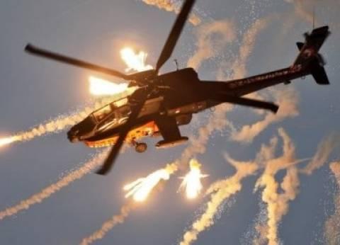 بالفيديو| الجيش يوجه ضربة جوية ضد منفذي الهجوم على مسجد الروضة