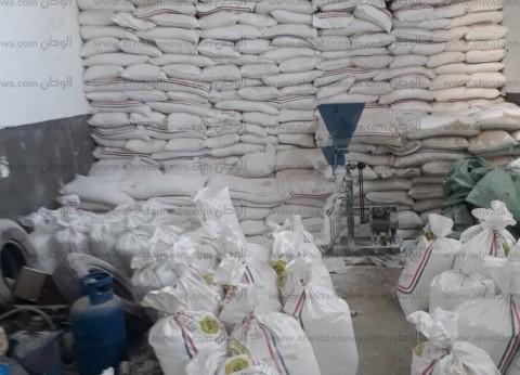 ضبط مالك محل بحوزته 3 أطنان سكر مجهول المصدر في الإسكندرية
