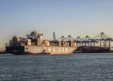 """""""ميناء دمياط"""": مغادرة 169 سيارة نقل محملة بـ9170 طن قمح"""