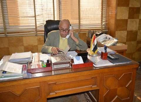 رئيس مركز ومدينة المحلة الكبرى يوجه المسؤولين بسرعة حل مشاكل المواطنين