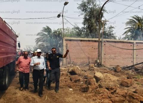 محافظ أسوان: تلقيت اتصالا من رئيس الوزراء للاطمئنان على حريق كوم أمبو