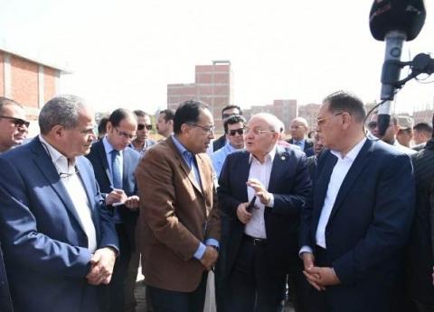 بالصور| رئيس الوزراء يتابع إنشاء مشروع معهد أورام جامعة الزقازيق