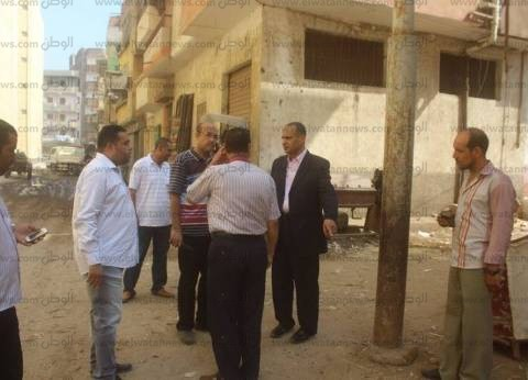 بالصور| مساعد محافظ كفر الشيخ: جار رفع بيارات الصرف الصحي بدسوق