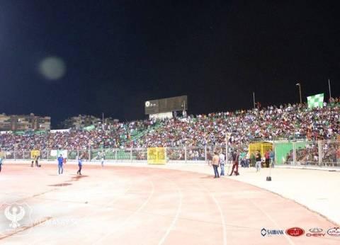 مدير أمن بورسعيد يترأس لجنة لمعاينة استاد المصري استعدادا للكونفدرالية