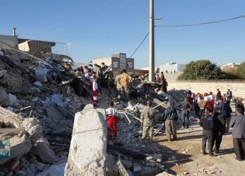 ارتفاع عدد مصابي زلزل إيران إلى أكثر من 2500 شخص