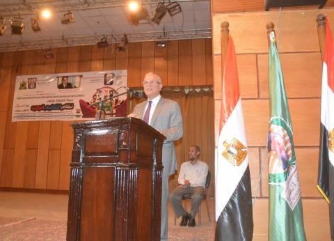 محافظ المنيا يهنئ أوائل الثانوية: التقدم سيحدث بتصحيح مسار التعليم