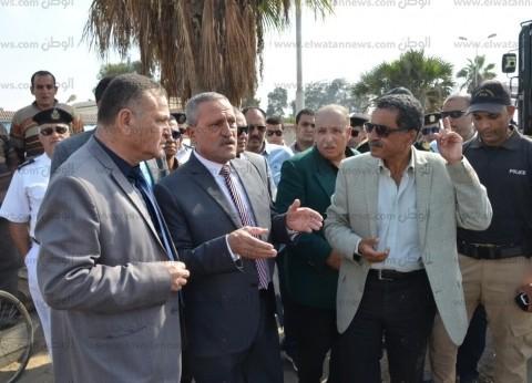 مدير أمن الإسماعيلية: القضاء على إشغالات «البلاجات» بـ«الود»
