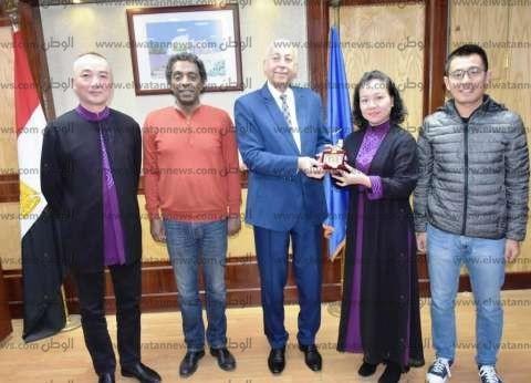 الفرق الشعبية الدولية تشكر منظمي مهرجان أسوان الدولي للثقافة