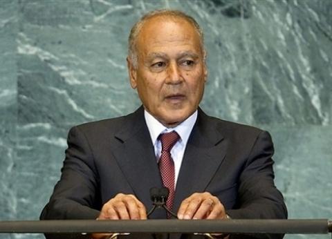 """أحمد أبو الغيط: القادة العرب رفضوا قرار """"ترامب"""" بشأن الجولان"""