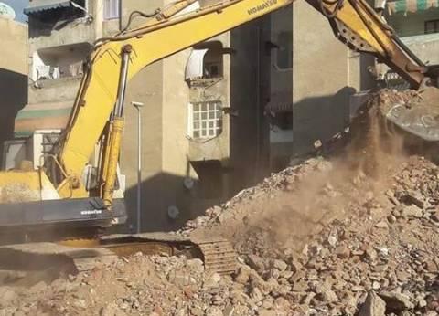 تحرير 48 قرار إزالة ورفع 625 طن قمامة خلال أسبوع بمركز أبنوب في أسيوط
