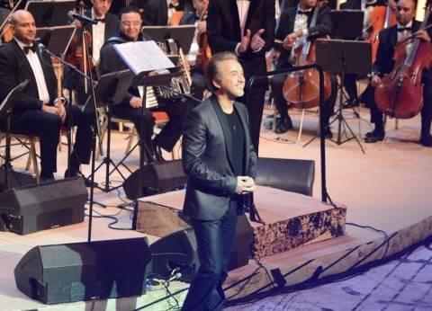 مروان خوري يغني لمصر في حفله بدار الأوبرا المصرية