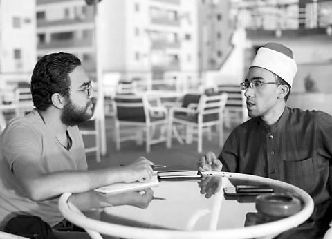 إبراهيم السوهاجى: «كنت بروح الاحتفالات مع المشايخ وأنا صغير عشان أقرأ آيتين يشجعونى بيهم»