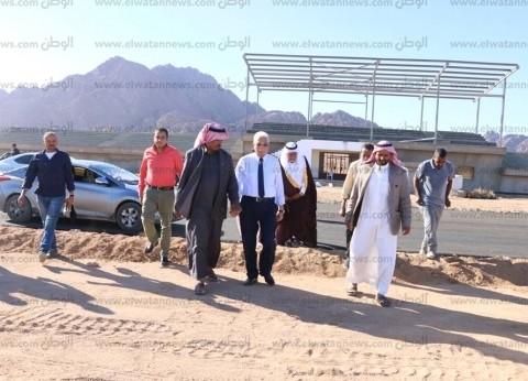 """محافظ جنوب سيناء: الانتهاء من """"التراك"""" بمضمار هجن شرم الشيخ"""