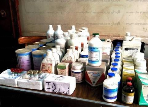 ضبط 93 عبوة أدوية بيطرية منتهية الصلاحية في الشرقية