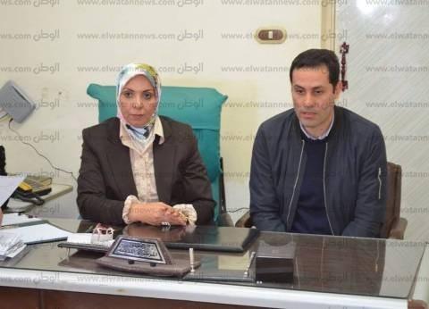 رئيس مدينة قلين بكفر الشيخ تناقش مشاكل الأهالي