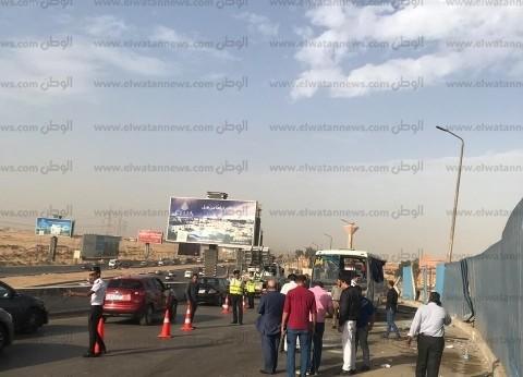"""إصابة 18 شخصا في تصادم سيارة نقل وأتوبيس على طريق """"سيوة – مطروح"""""""