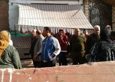 بالصور| رئيس مدينة كفر الزيات يبحث نقل سوق خضار الدلجمون