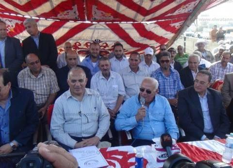 محافظ بورسعيد: سننقل 5 ملايين متر من المياه المعالجة إلى سيناء