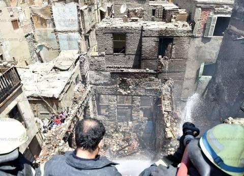 """""""الحماية المدنية"""" تسيطر على حريق شقة سكنية بمنشأة ناصر"""