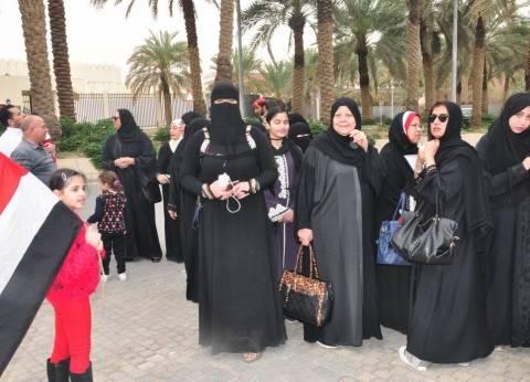 """""""الهجرة"""": إقبال كثيف من المرأة على اللجان في اليوم الأول"""