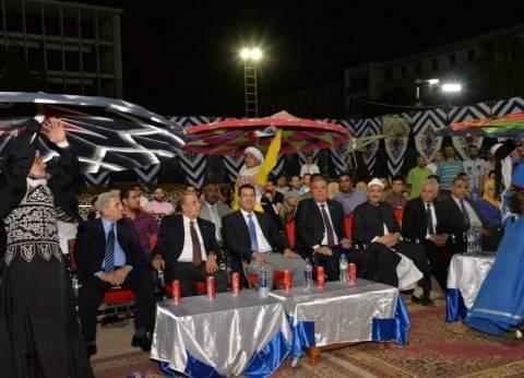 """محافظ أسيوط يشهد حفل ختام مبادرة """"كلنا واحد"""" لترسيخ السلام بين الشباب"""