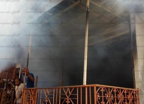 فلاح يحرق محل أجهزة كهربائية ليمنع والده من الزواج بثانية في المنيا