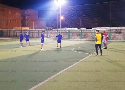 """""""شباب أبنوب"""" ينظم دورة رمضانية في كرة القدم بمشاركة 14 فريق"""