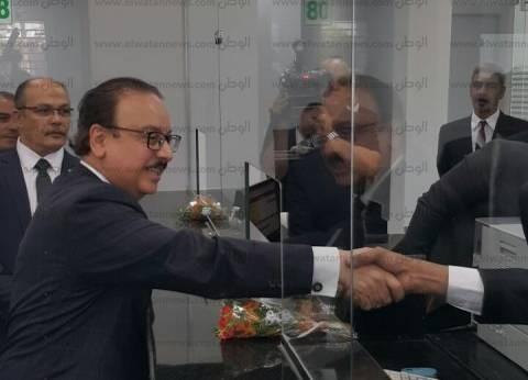 وزير الاتصالات يفتتح عددا من مراكز الخدمات البريدية بجنوب سيناء