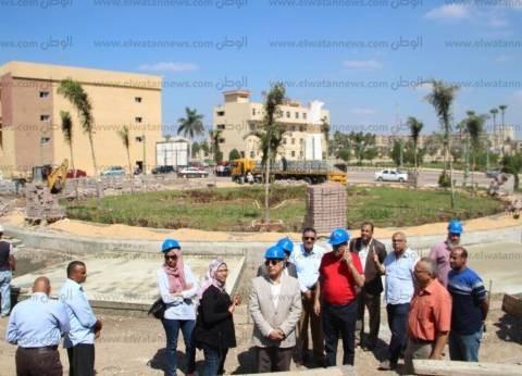 رئيس جامعة كفر الشيخ يتابع إنشاء دار الضيافة استعدادا لأسبوع الشباب