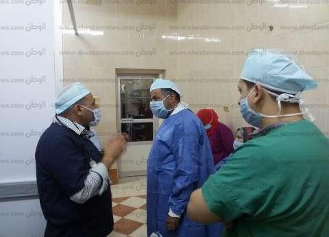 """""""صحة مطروح"""": مستشفيات المحافظة تدخل لأول مرة عالم جراحات الوجه والفكين"""
