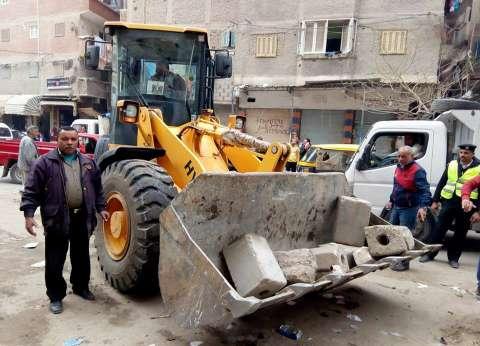 """إزالة """"تندتي صاج"""" بحملة لحي منتزه ثان في الإسكندرية"""